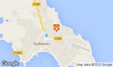 Mappa Quiberon Casa 52538