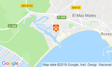 Mappa Rosas Appartamento 114884