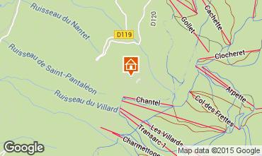 Mappa Les Arcs Monolocale 155