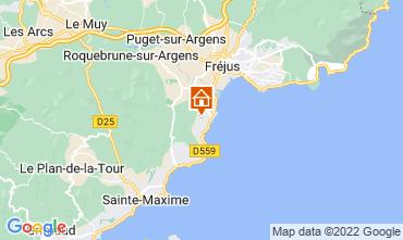 Mappa Les Menuires Chalet 73309