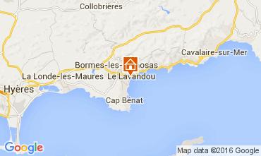 Mappa Le Lavandou Monolocale 105610