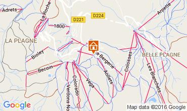 Mappa La Plagne Monolocale 106820