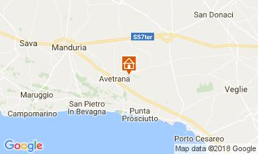 Mappa Punta Prosciutto Villa  109502