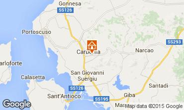 Mappa Carbonia Appartamento 85397