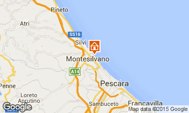 Mappa Montesilvano Marina Monolocale 85529