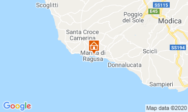 Mappa Marina di Ragusa Villa  118895