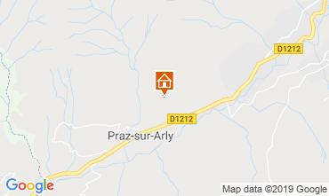 Mappa Praz sur Arly Chalet 2301