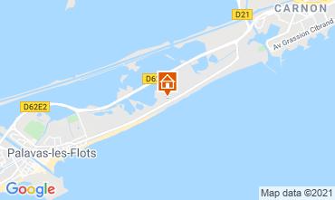 Mappa Palavas-les-Flots Appartamento 67533