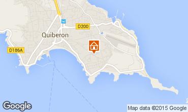 Mappa Quiberon Appartamento 68871
