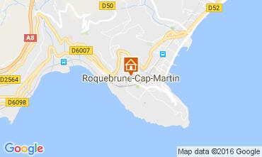 Mappa Roquebrune Cap Martin Monolocale 94016
