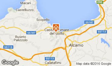 Mappa Castellammare del Golfo Appartamento 95562
