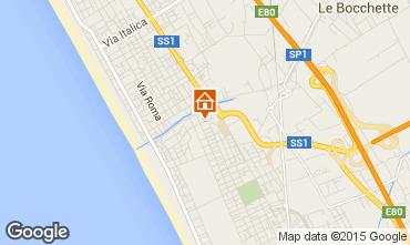 Mappa Viareggio Appartamento 44861
