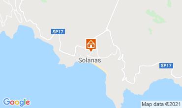 Mappa Solanas Villa  47978