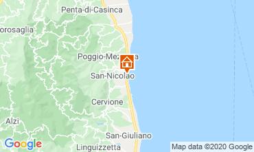 Mappa Moriani Plage Appartamento 75346