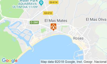 Mappa Rosas Appartamento 96892