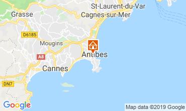 Mappa Antibes Appartamento 118703