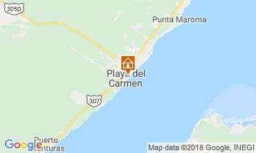 Mappa Playa del Carmen Monolocale 116454