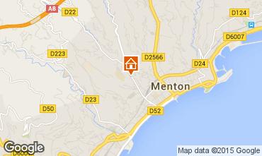Mappa Menton (Mentone) Appartamento 77050