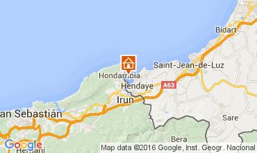 Mappa Hendaye Casa 79682