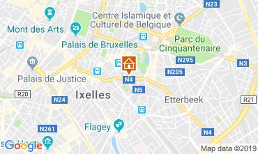Mappa Bruxelles Appartamento 119925