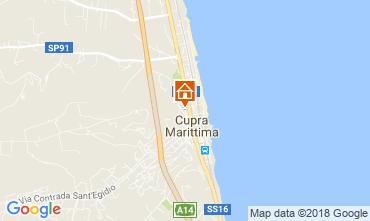 Mappa Cupra Marittima Appartamento 90461