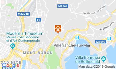 Mappa Villefranche sur Mer Appartamento 119303
