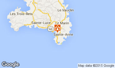 Mappa Sainte Anne (Martinique) Monolocale 84011