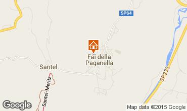Mappa Andalo - Fai della Paganella Appartamento 58993