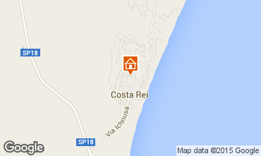 Mappa Costa Rei Appartamento 69514