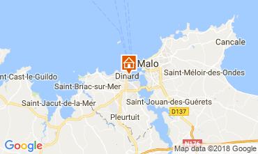 Mappa Dinard Appartamento 115836
