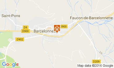 Mappa Barcelonnette Appartamento 4863