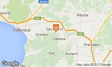 Mappa Gavorrano Villa  80762