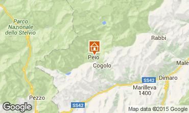 Mappa Peio (Pejo) Appartamento 91284