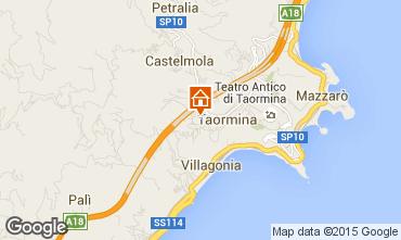 Mappa Taormina Appartamento 68005