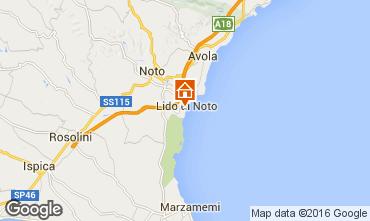 Mappa Noto Appartamento 96552