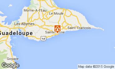 Mappa Sainte Anne (Guadalupa) Appartamento 66397