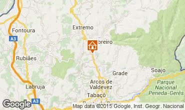 Mappa Arcos de Valdevez Monolocale 22095