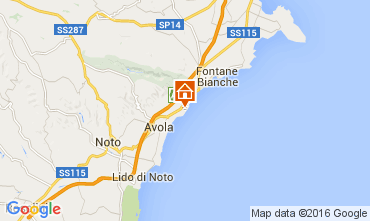 Mappa Avola Villa  104480