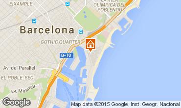 Mappa Barcellona Appartamento 56083