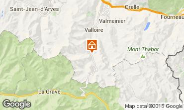 Mappa Valloire Appartamento 3378