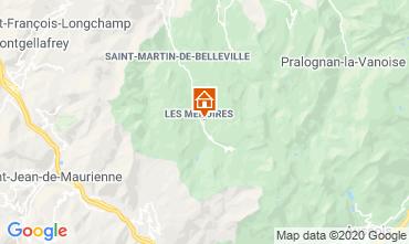 Mappa Les Menuires Monolocale 15243