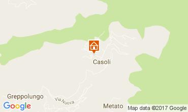 Mappa Camaiore Casa 109166