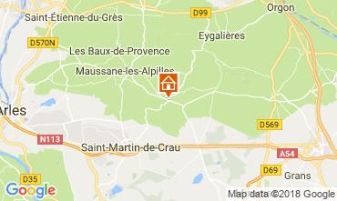 Mappa Les Baux de Provence Agriturismo 114985