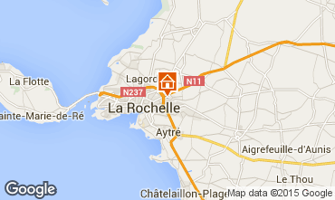 Mappa La Rochelle Appartamento 64821