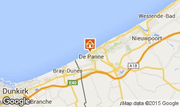 Mappa De Panne Appartamento 9558