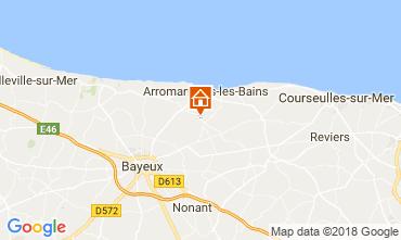 Mappa Arromanches Agriturismo 102250