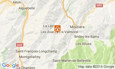 Mappa Valmorel Appartamento 73329