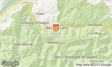 Mappa Les 2 Alpes Appartamento 1168