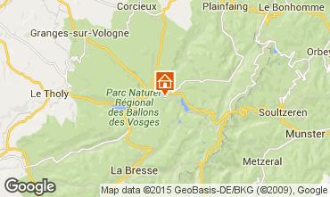 Mappa Gérardmer Chalet 4579