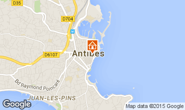 Mappa Antibes Appartamento 79579
